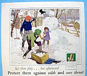 Vintage Ad: 1929 Listerine (Image1)