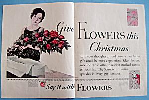 Vintage Ad: 1929 Florists Telegraph Delivery (FTD) (Image1)