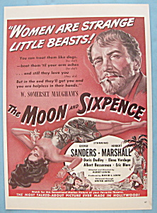 Vintage Ad: 1942 The Moon And Sixpence