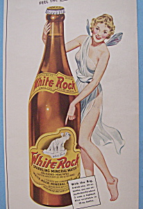 Vintage Ad: 1942 White Rock Mineral Water