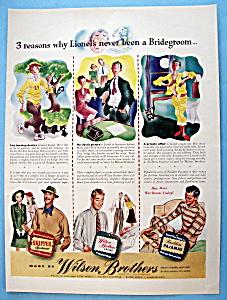 Vintage Ad: 1942 Wilson Brothers (Image1)