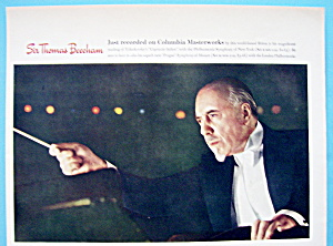 Vintage Ad: 1942 Columbia Records W/ Sir Thomas Beecham
