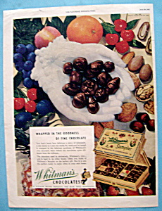 Vintage Ad: 1945 Whitman's Chocolates (Image1)