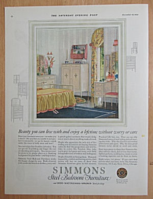 1924 Simmons Furniture with Steel Bedroom Furniture (Image1)