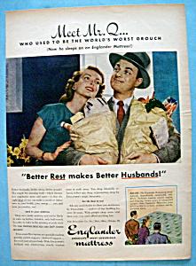 Vintage Ad: 1945 Englander Mattress (Image1)