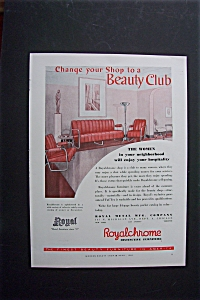 1940  Royalchrome Beauty Shop Furniture (Image1)