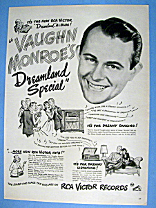 Vintage Ad: 1947 Vaughn Monroe's Dreamland Special (Image1)