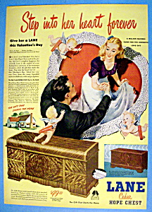 Vintage Ad: 1947 Lane Cedar Hope Chest
