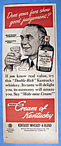 1949 Cream Of Kentucky w/Man's Face By Norman Rockwell (Image1)