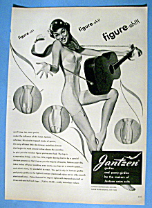 1949 Jantzen Girdles & Panty Girdles with a Woman (Image1)