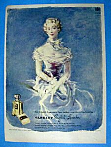 Vintage Ad: 1949 Yardley English Lavender (Image1)