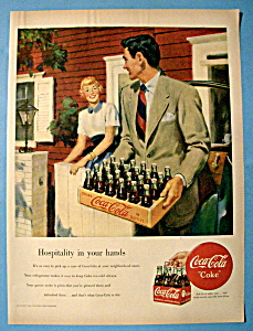 1949 Coca Cola (Coke) with Man Carrying Case (Image1)