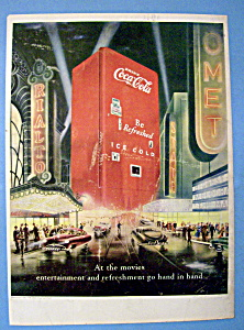 1949 Coca Cola (Coke) with a Coke Machine (Image1)