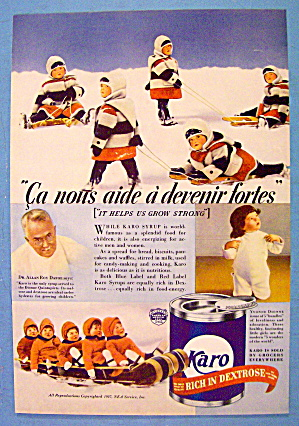 1937 Karo Syrup with the Dionne Quintuplets (Image1)
