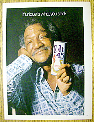 1974 Colt 45 Malt Liquor with Redd Foxx (Sanford & Son) (Image1)