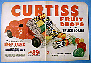 Vintage Ad: 1949 Curtiss Fruit Drops