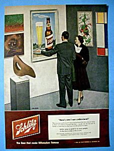 Vintage Ad: 1952 Schlitz Beer By John Falter (Image1)