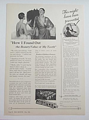 1926 Colgate Ribbon Dental Cream with Women Talking  (Image1)