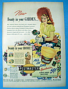 Vintage Ad: 1950 Pestmaster Gardenier (Image1)