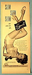 Vintage Ad: 1950 Spun Lo Panties (Image1)