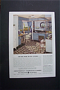 1937 Armstrong's Linoleum Floors with a Lovely Kitchen (Image1)