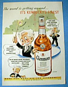 Vintage Ad: 1950 Glenmore Whiskey (Image1)