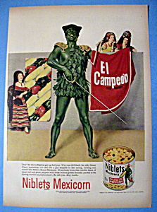 Vintage Ad: 1952 Green Giant Niblets Mexicorn