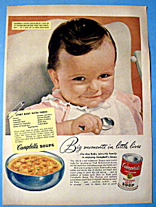 Vintage Ad: 1952 Campbell's Vegetable Beef Soup (Image1)