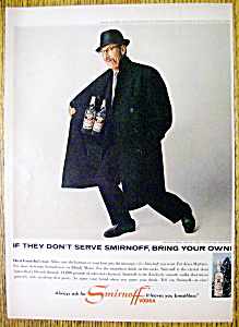 1965 Smirnoff Vodka with Actor & Star Groucho Marx (Image1)