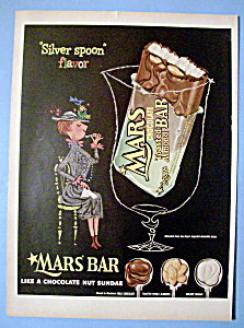 Vintage Ad: 1954 Mars Toasted Almond Bar (Image1)
