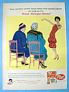 Vintage Ad: 1958 Post Grape Nuts By Dick Sargent (Image1)