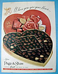 Vintage Ad: 1959 Paige & Shaw Chocolates (Image1)