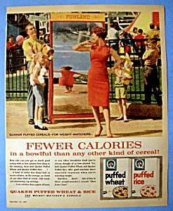 Vintage Ad: 1961 Puffed Wheat & Rice (Image1)