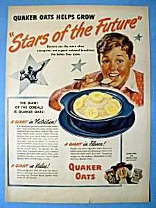 Vintage Ad: 1948 Quaker Oats (Image1)