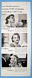 Vintage Ad: 1952 Woodbury Cold Cream w/Ann Sheridan (Image1)