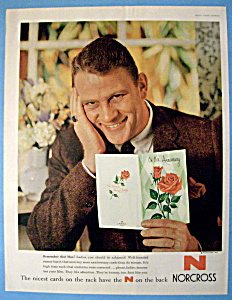 1959 Norcross Anniversary Cards with Man Smiling (Image1)
