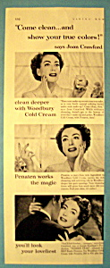 1952 Woodbury Cold Cream with Joan Crawford (Image1)