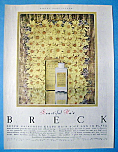 1952 Breck Shampoo w/Breck Shampoo & Flowers (Image1)