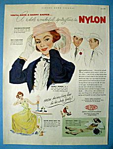 Vintage Ad: 1952 Du Pont Nylon (Image1)
