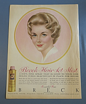 1960 Breck Hair Mist w/Brown Haired Woman (Image1)