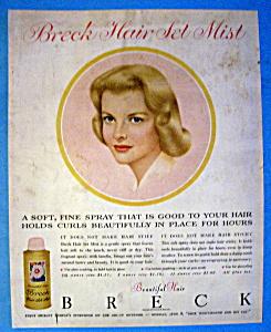1959 Breck Shampoo w/ Breck Woman (Image1)
