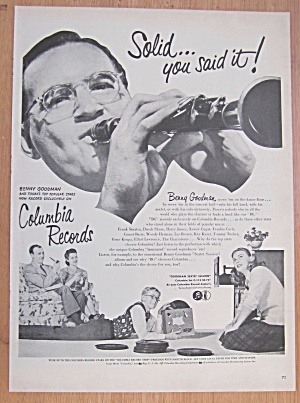1946 Columbia Records With Benny Goodman