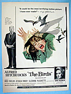 1963 Alfred Hitchcock's The Birds With Tippi Hedren