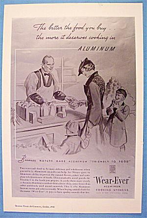1936 Wear-Ever Aluminum Cooking Utensils w/Woman & Kids (Image1)