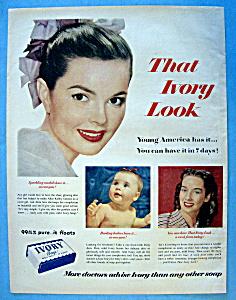 Vintage Ad: 1951 Ivory Soap (Image1)