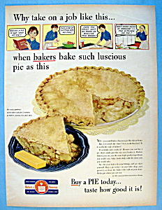 Vintage Ad: 1951 Baker's Of America
