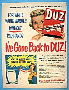 Vintage Ad: 1951 Duz Soap (Image1)