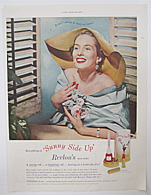 1950 Revlon's Sunny Side Up with Lovely Woman  (Image1)