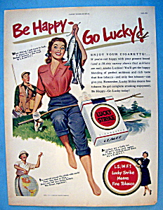 Vintage Ad: 1951 Lucky Strike Cigarettes (Image1)