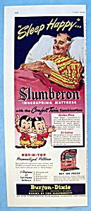Vintage Ad: 1951 Slumberon Innerspring Mattress (Image1)
